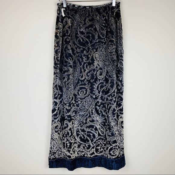 Harold's Dresses & Skirts - Harolds Silk Maxi Skirt paisley